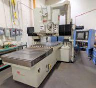 SIP MODEL 740 CNC VERTICAL JIG BORING MACHINE, FANUC 11M CNC CONTROL, GLASS SCALES, TABLE 1,600 MM L