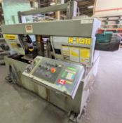 HYD-MECH(2001) MODEL H-14A HORIZONTAL AUTOMATIC BANDSAW, AUTO CLAMP, AUTO FEED, S/N 60401377 (