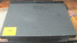 "APPROX. 2'L X 18""W X 4""H GRANITE SURFACE PLATE"