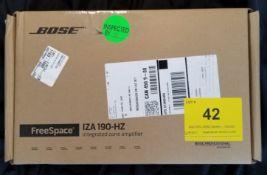 BOSE, FREESPACE IZA 190-HZ INTEGRATED ZONE AMPLIFIER - (BNIB) MSRP $632