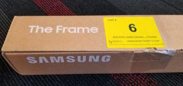 "SAMSUNG, THE FRAME 65"" BLACK, MODEL: VG-SCFN65BM/ZA - (BNIB) MSRP $350"