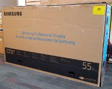 "SAMSUNG, 55"" PROFESSIONAL DISPLAY, MODEL: UD55E-B - (BNIB) MSRP $3887"