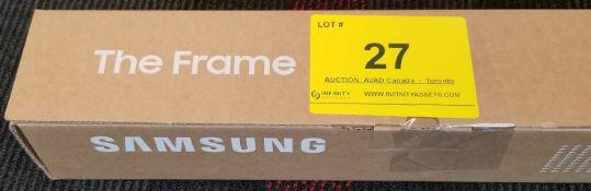 """SAMSUNG, THE FRAME 50"""" WHITE, MODEL: VG-SCFT50WT/ZA - (BNIB) MSRP $149"""
