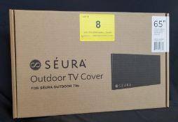 "SEURA, 65"" OUTDOOR TV COVER, MODEL: CVRSHD2-65 - (BNIB) MSRP $219"