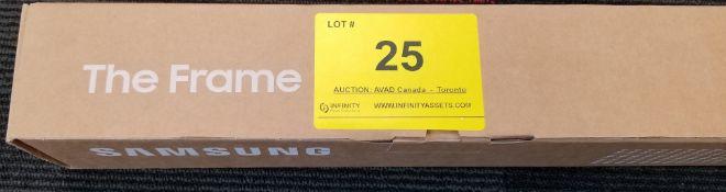 """SAMSUNG, THE FRAME 55"""" WHITE, MODEL: VG-SCFT55WT/ZA - (BNIB) MSRP $149"""