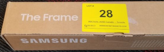 """SAMSUNG, THE FRAME 43"""" WHITE, MODEL: VG-SCFT43WT/ZA - (BNIB) MSRP $149"""
