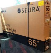 "SEURA, 65"" STORM ULTRA BRIGHT OUTDOOR DISPLAY, MODEL: STM3-65-U - (BNIB) MSRP $13,999"