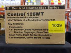 JBL, CONTROL 128WT PREMIUM IN-WALL LOUDSPEAKER - (BNIB) MSRP $550 USD