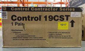 JBL, CONTROL 19CST IN CEILING SUBWOOFER, PAIR - (BNIB) MSRP $384 USD