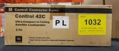 JBL, CONTROL 42C SATELLITE LOUDSPEAKER - (BNIB) MSRP $135 USD