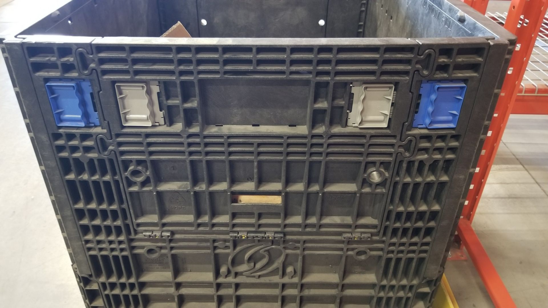 PLASTIC STOCK BIN WITH OPENING SIDES - Image 2 of 4