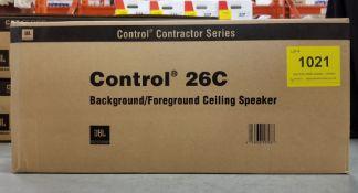 JBL, CONTROL 26C CEILING SPEAKER, PAIR - (BNIB) MSRP $280