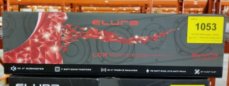 ELURA, LCR1 PASSICE SOUNDBAR - (BNIB) MSRP $349 USD
