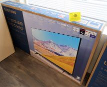 SAMSUNG CRYSTAL UHD, 55 IN. SMART TV, MOD. UN55TU8000F, (BNIB) MSRP $850