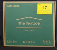 """SAMSUNG, THE TERRACE DUST COVER 55"""", MODEL: VG-SDC55G/ZC - (BNIB) MSRP $209 (LOCATED IN MISSISSAUGA,"""