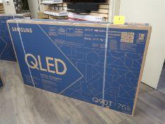 SAMSUNG QLED Q90T, 75 IN. SMART TV, MOD. QN75Q90TAF (BNIB) MSRP $3500