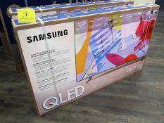 SAMSUNG QLED Q60T, 55 IN. SMART TV, MOD. QN55Q60TAF, (BNIB) MSRP $850