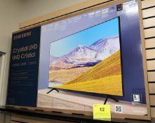 SAMSUNG CRYSTAL UHD, 50 IN. SMART TV, MOD. UN50TU8000F, (BNIB) MSRP $650