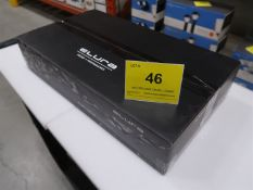 ELURA 2-CHANNEL AMPLIFIER, MOD. AMP150/2, 150W PER CHANNEL AND VARIABLE CROSSOVER, (BNIB) MSRP $720