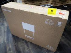 SAMSUNG QLED, THE SERIF 43 IN., LED-BACKLIT LCD TV, MOD. QN43LS01TAF, (BNIB) MSRP $1400