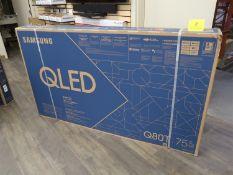 SAMSUNG QLED, Q80T, 75 IN. SMART TV, MOD. QN75Q80TAF, (BNIB) MSRP $3300