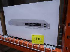 UNIFI MANAGED POE AND GIGABIT SWITCH W/SFP US-24-250W, (BNIB) MSRP $500