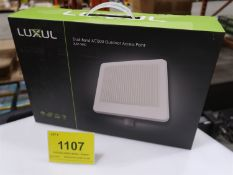 LUXUL DUAL BAND AC1200 OUTDOOR ACCESS POINT XAP 1440, (BNIB) MSRP $700