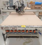 AXYZ AUTOMATION SERIES 5012 CNC ROUTER, S/N 2603-2166 W/ CRAFTEX DUST COLLECTOR & BECKER VACUUM