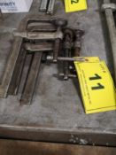 """LOT (3) 12"""" BESSEY C-CLAMPS"""
