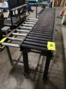 """APPROX. 15"""" X 120"""" AND 15"""" X 64"""" ROLLER CONVEYORS"""