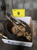 LOT OF ACETYLENE TORCH