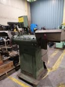 FORD-SMITH MODEL 501 POLISHER BUFFER UNIT, DUAL SIDED, 5HP, S/N 2824 (LOCATED IN BRAMPTON, ON)
