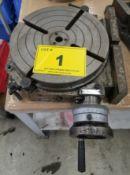 MECATECNICA, MOD. PHVD 320 ROTARY TABLE. S/N: P80T0B