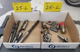 ENDMILL FLUTES AND DRILLS