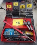 LOT - ASSORTED NEW/USED DRILL BITS