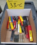 LOT - ASSORTED TAPS AND DIES