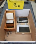 LOT - MAGNETIC BLOCK AND ANGLE PLATE