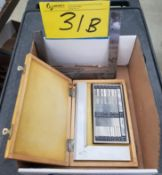 LOT - SURFACE ROUGHNESS GAUGE AND ANGLE PLATE