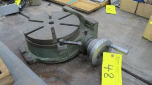 "12""DIA. ROTARY TABLE (MACHINE SHOP)"