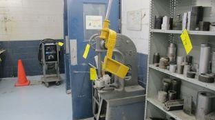 GREENERD NO 3-1/2 ARBOR PRESS W/ METAL STAND (MACHINE SHOP)
