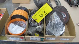 LOT OF (3) BOXES OF WALTER METAL CUTTING DISCS, ASST. SIZES (MACHINE SHOP)
