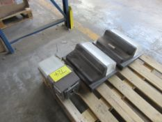 LOT OF (2) PALLETS OF WALL LAMPS, PHILIPS BULBS AND ALUMINUM FIXTURES (WEST WAREHOUSE)