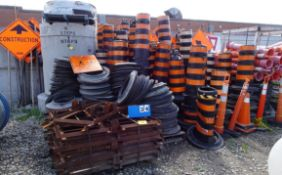 LARGE SELECTION OF SAFETY SIGNS ETC.