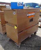 KNAACK MODEL 89 STORAGEMASTER CHEST ON CASTERS