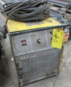 ESAB 452 CVCC WELDER W/ CABLES