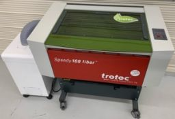 2010 TROTEC FP100-20 SPEEDY 100 FIBER LASER ENGRAVER, FP100/20, 20WATTS, INPUT POWER: 115VAC, 10A,
