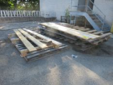 LOT ALL LOOSE WOOD IN YARD