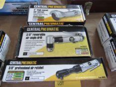 Lot of 3: Hand Tools Mfg: Central Pneumatics