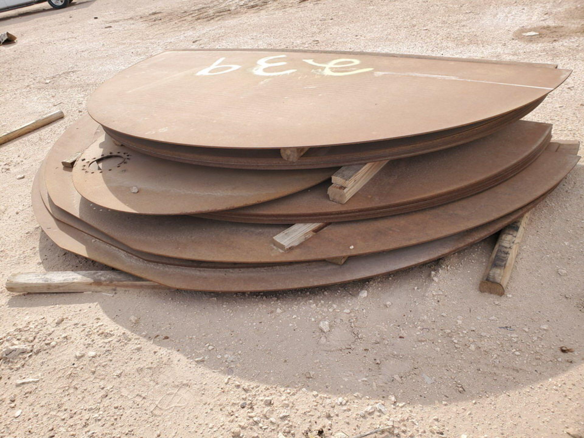 API Tank Bottoms Size Range: 10'-11'W - Image 8 of 10