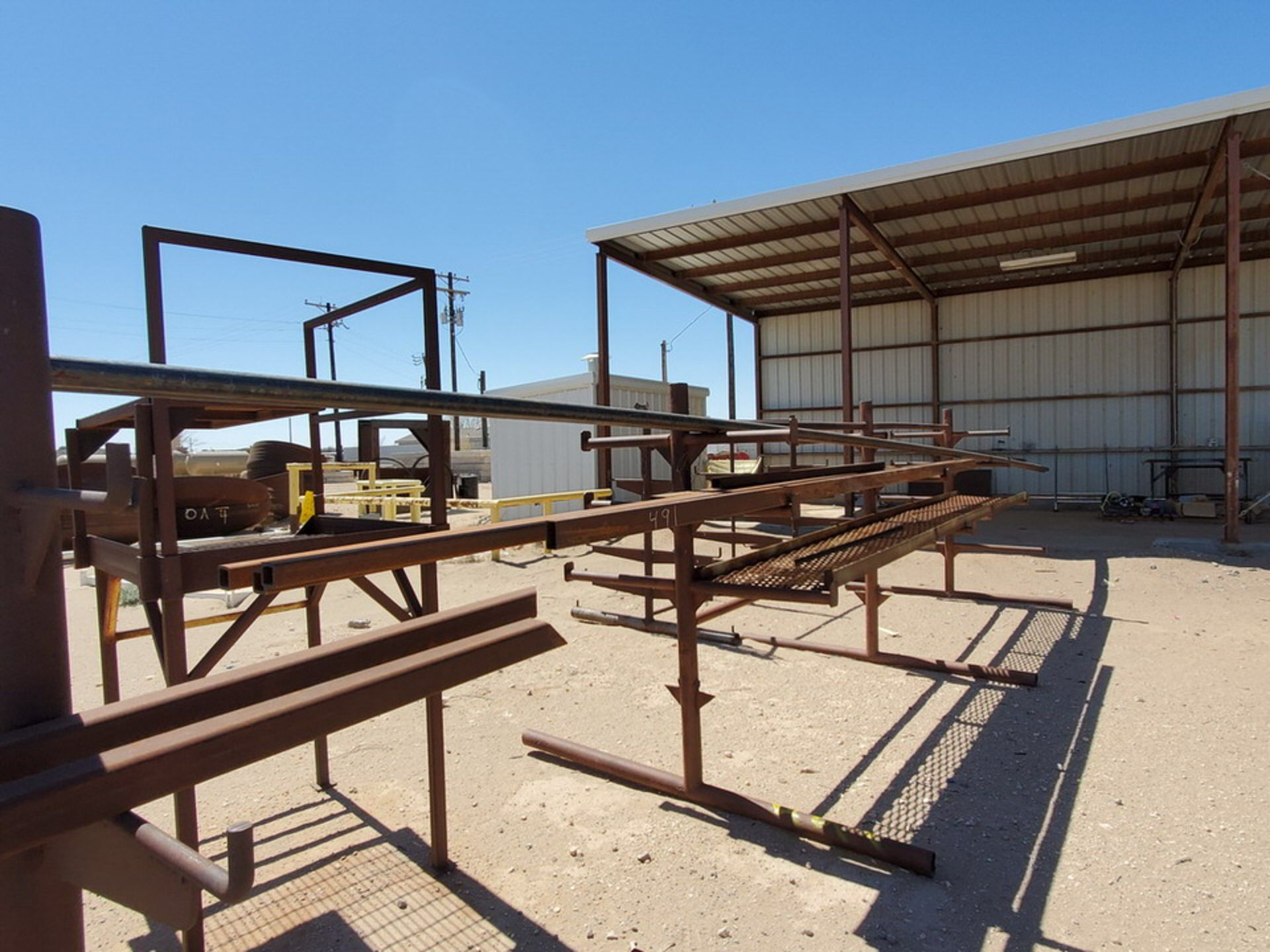 """(3) 3-Post Doublesided Cantilever Racks (2) 10' x 6' x 6'6"""", (1) 17' x 7' x 6'6"""" - Image 5 of 17"""